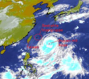 Satellitenbild vom 26.09.2015, 08 Uhr MESZ