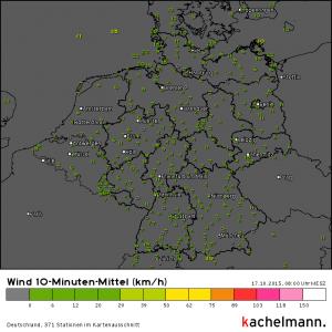 Mittelwind Deutschland, 17.10.2015, 08 Uhr