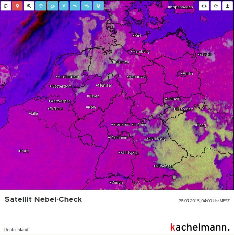 Satellitenbild Nebel-Check