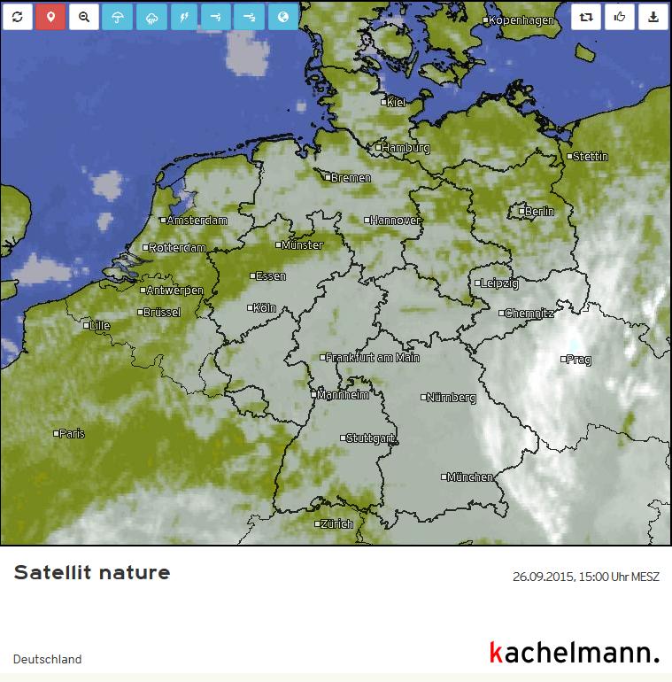 Satellitenbild Nature