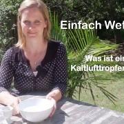 Rebekka Krampitz erklärt, was ein Kaltlufttropfen ist