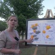 Rebekka Krampitz und das Pfingstwochenende