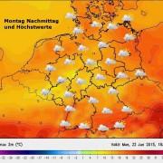 Video: Das Wochenwetter vom 22.6. bis 26.6. — Wird es wärmer oder bleibt es so nass und kühl ?