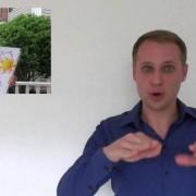 Deutschland-Wetter: Wochenende mit Gebärdensprache