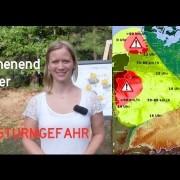 Wochenendwetter für Deutschland (25./26.7.) – Achtung Sturmgefahr!