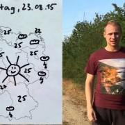 Wochenende 34. KW: Deutschland-Wetter mit Gebärdensprache