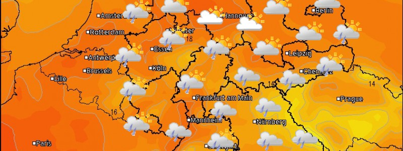 Wetter Montag