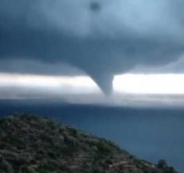 Tornados und Überschwemmungen in Griechenland