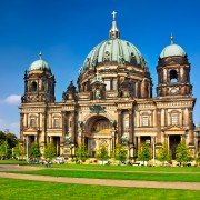 Berlin Cathedral famous landmark in Berlin City, Germany