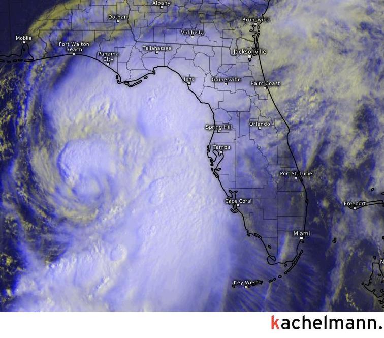 schlimmste hurrikan in florida aller zeiten