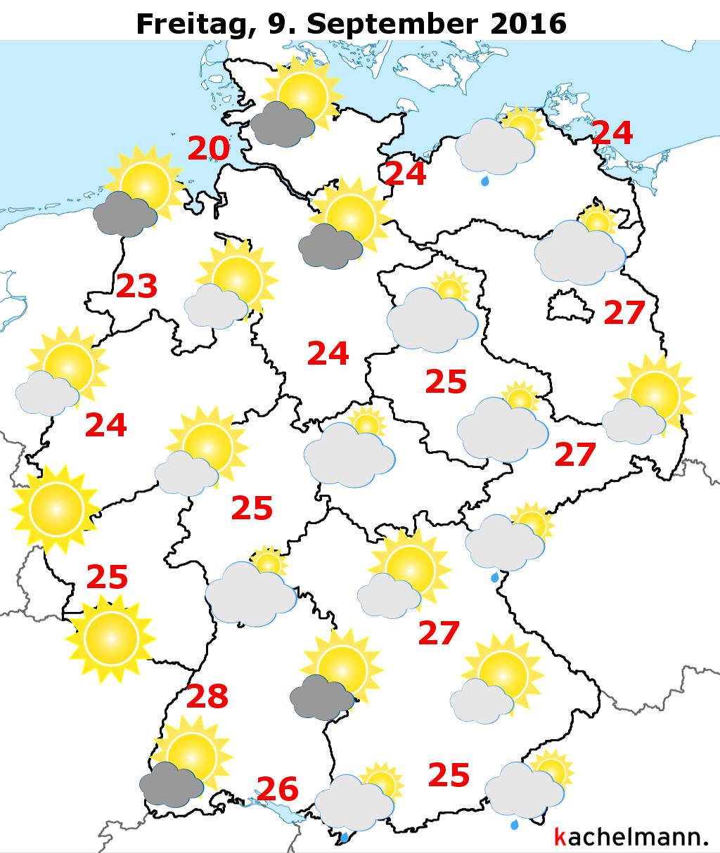Deutschlandwetter 10 Tages Vorhersage