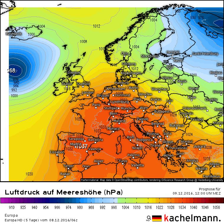 161208luftdruck_mitteleuropa