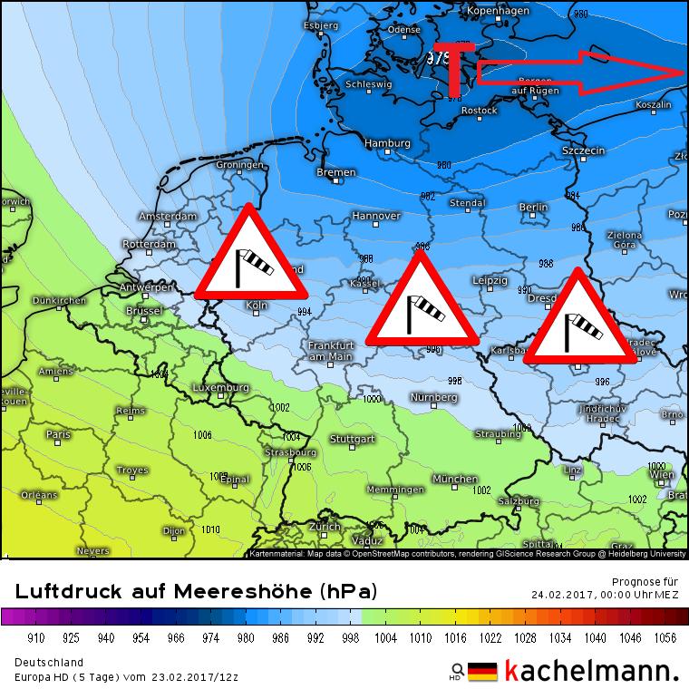 sturm in norddeutschland