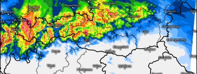 Regenmengen