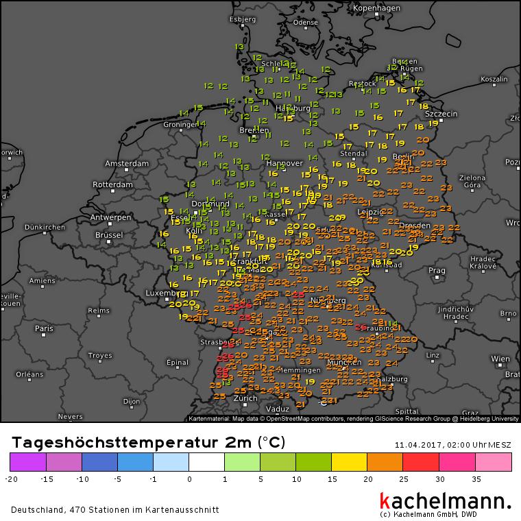 Wetter Jahresrückblick 2017 Wetterkanal Vom Kachelmannwetter Team