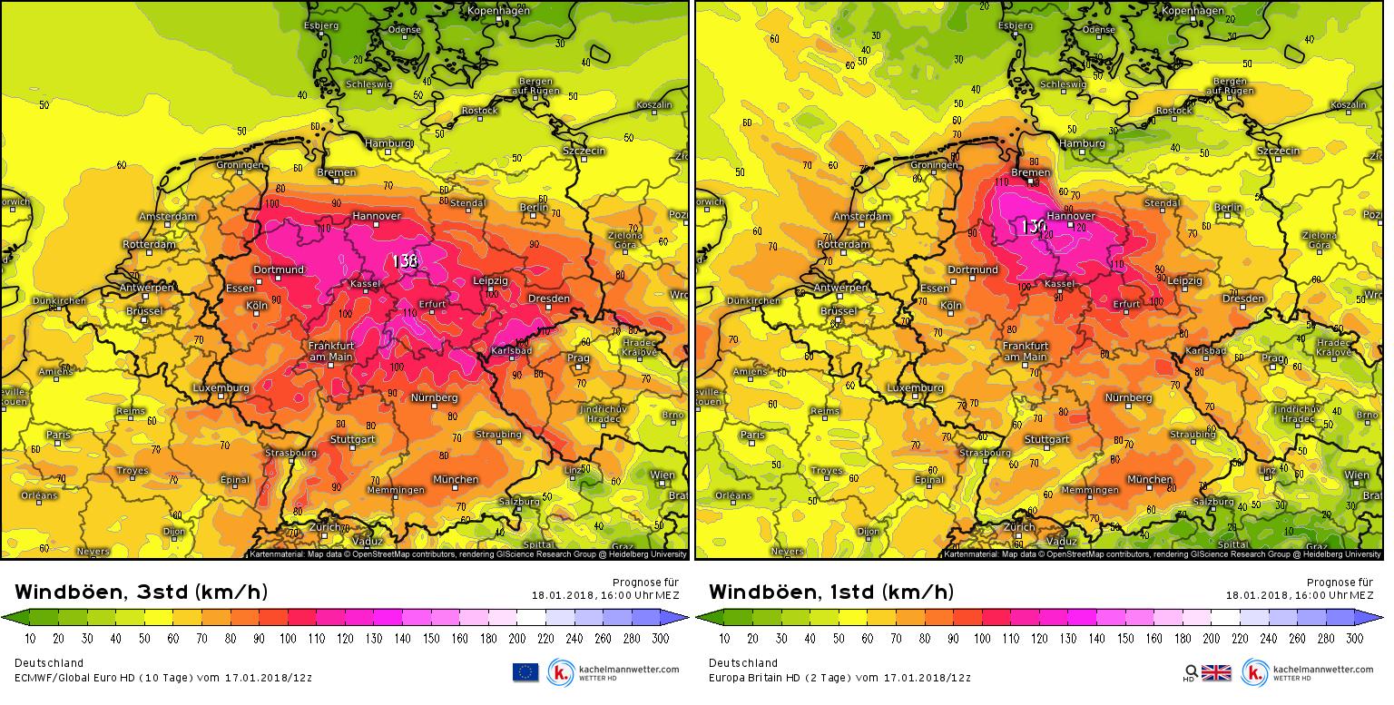 satellitenaufnahmen deutschland aktuell