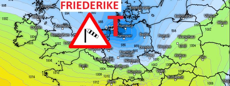 Live Wetter Ticker Sturm Friederike Am Donnerstag Wetterkanal Vom