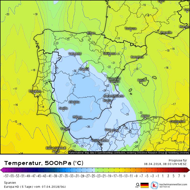 Wetter Südfrankreich
