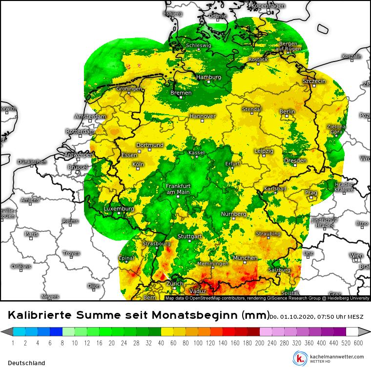 Wetter Köln Rückblick